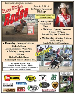 Coming This June: California High School Rodeo State Finals 2014