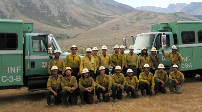 Congratulations to The Inyo Interagency Hotshot Crew.