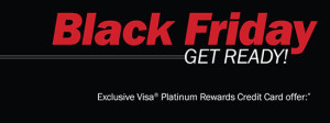 Black Friday Visa Campaign