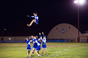 BUHS Juniors vs. Seniors Powder Puff Football Game, 10/20/2014. Photo by Steve Dutcher.