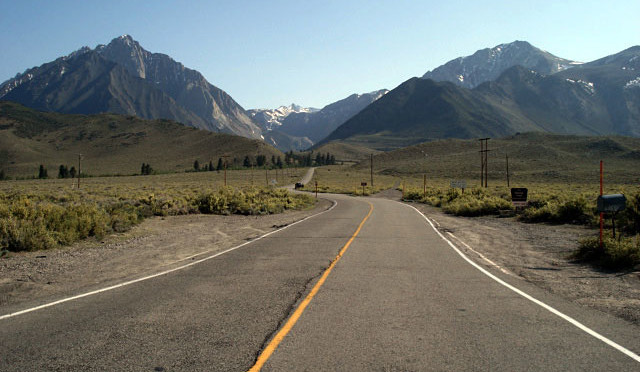 Convict Lake Road Construction