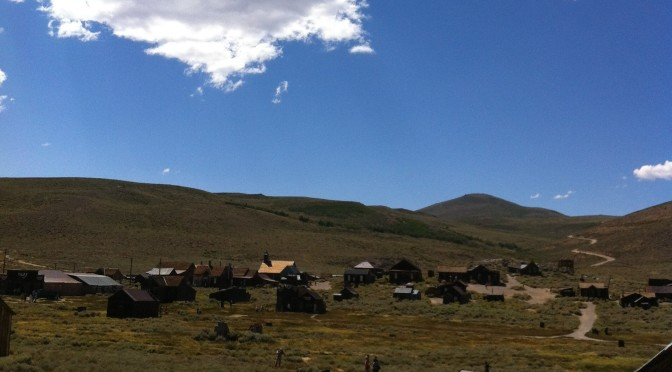 Bodie in the summer time