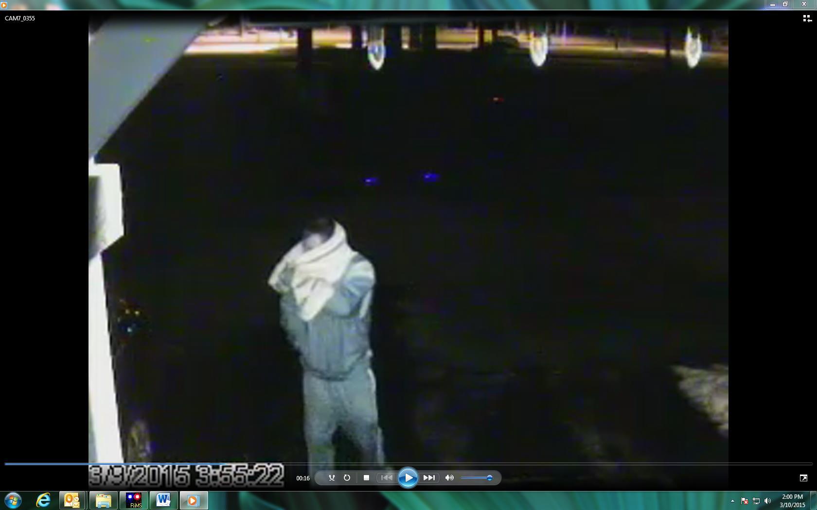 459 suspect parking lot