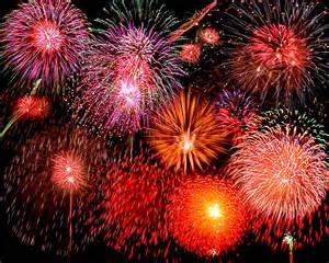Fireworks at Crowley Lake