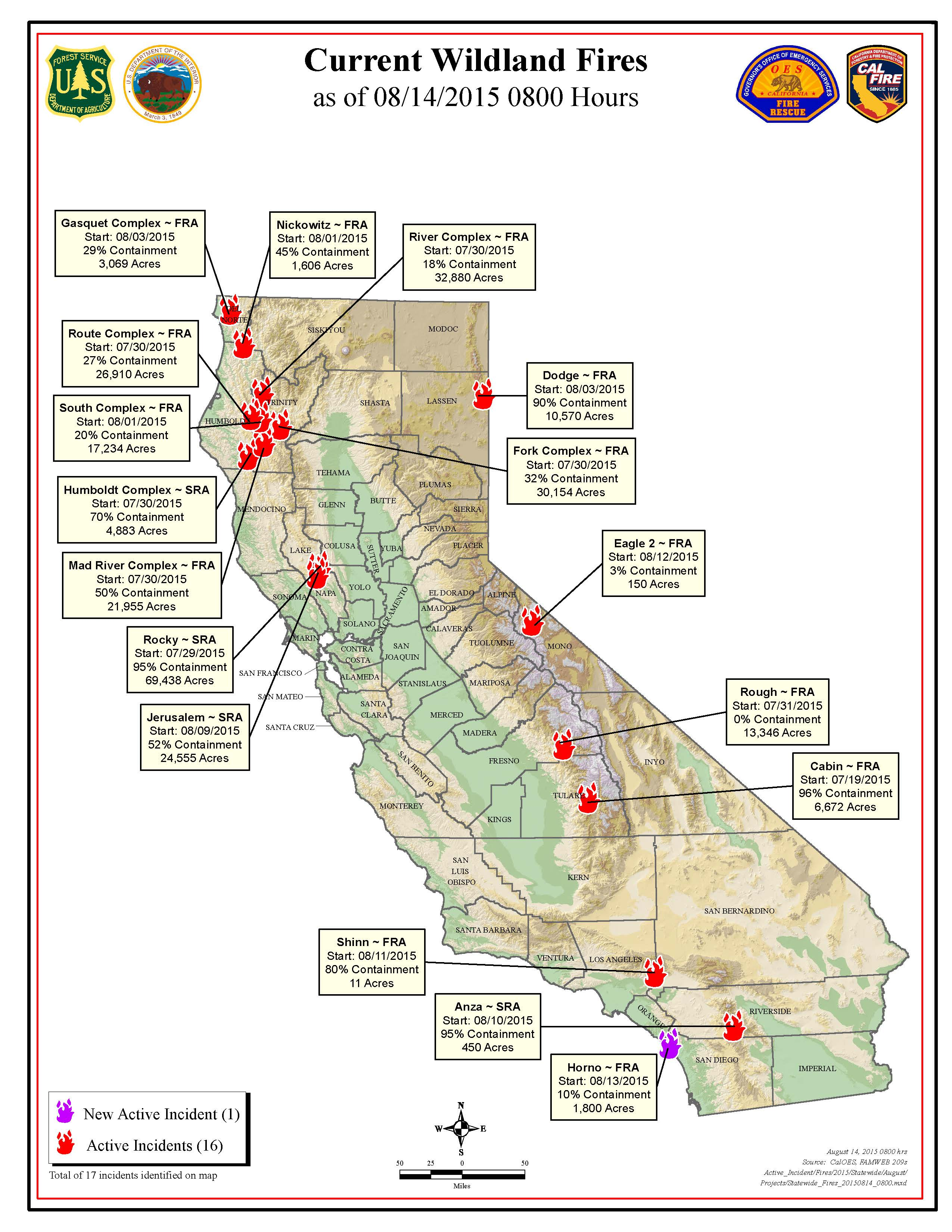 Ca Fires Map | My Blog