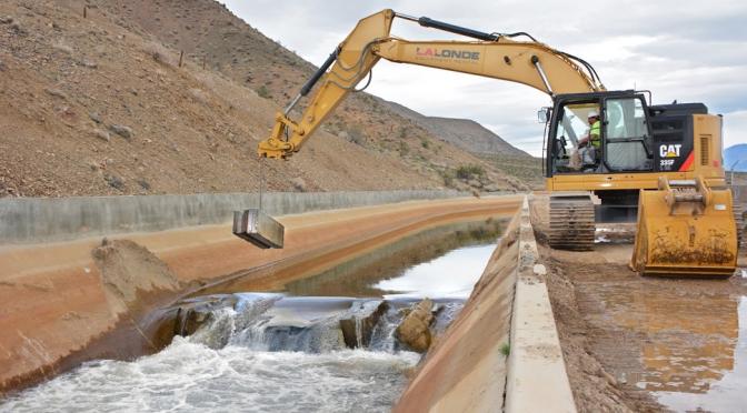 LADWP Removes Aqueduct Dam