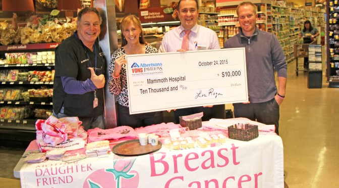 Mammoth Hospital and Vons team up to fight cancer