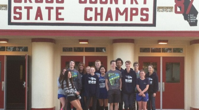 Bishop Union XC competes in CIF
