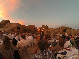 Concert in the Rocks