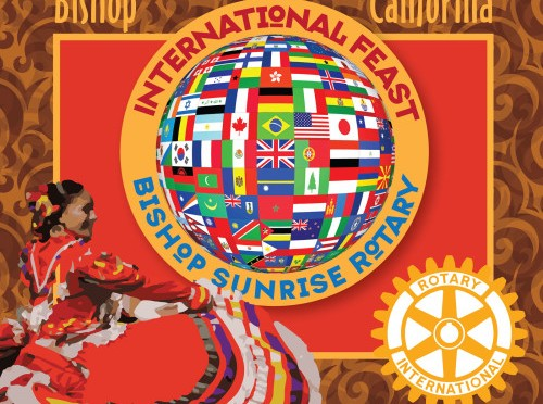 Bishop Sunrise Rotary holding International Feast
