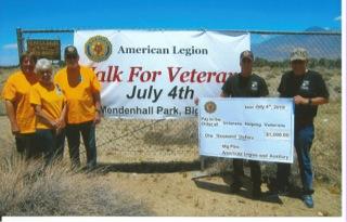 Big Pine Walk for Veterans