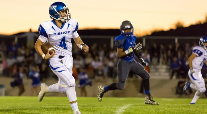 Varsity Football Running on all Cylinders in Yermo
