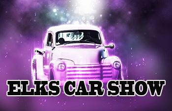 CLASSIC CAR SHOW AT BISHOP ELKS LODGE