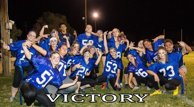 BUHS POWDER PUFF FOOTBALL THRILLER