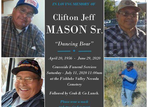Clifton Jeff Mason Obituary