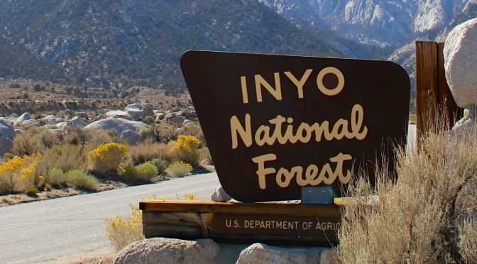THE INYO IS OPEN, CLOSING SOON FOR THE SEASON