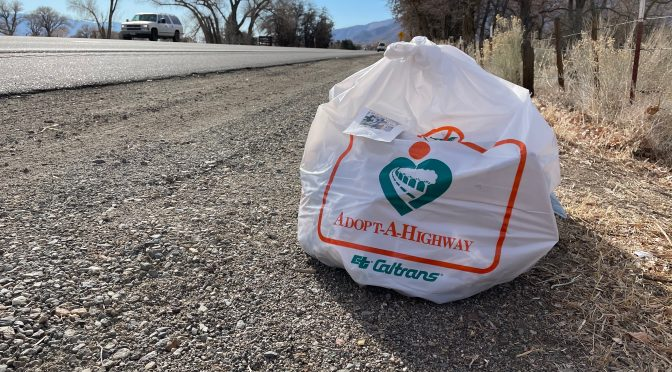 ADOPT A PIECE OF HIGHWAY 395