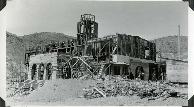 100's of Historic Scotty's Castle Photographs Now Online