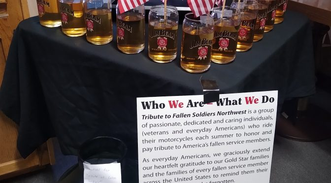 Bishop VFW Raise Funds For The 13 Fallen Solders
