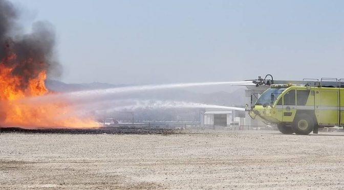 Airport's New Rescue & Firefighting Vehicle