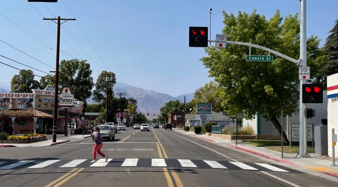 New Pedestrian Crossing Signals Activated